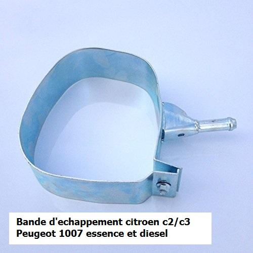 Collier Sangle de Fixation pot silencieux echappement C3 C2 essence et diesel